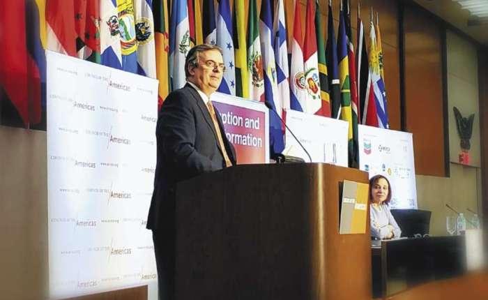 """México condena las """"violaciones al derecho internacional"""" de la ley Helms-Burton contraCuba"""